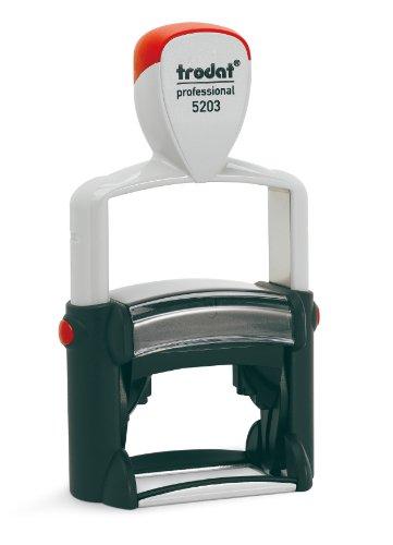 trodat 5203 Professional Taschenstempel für maximal 7 Zeilen, 49 x 28 mm