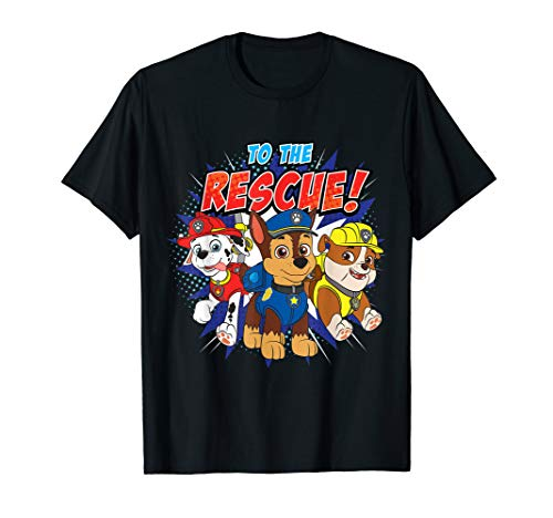 PAW Patrol To The Rescue! Three Characters T-Shirt