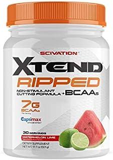 【海外直送品】Scivation Xtend Ripped BCAA 30杯分 (ウォータメロンライム)