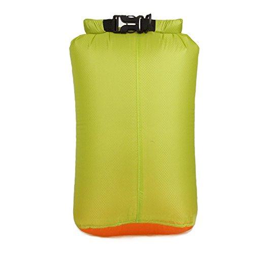 Yotijar - Bolsa de viaje impermeable Drybag para la navegación de Plaisance, Le Kayak, Le Rafting 7L/12L/18L/25L – Verde hierba, S