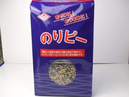 東北水産加工協同組合 ばかうけ!のりピー 味付のり 8切6枚×6袋 全形4.5枚分