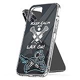 Goat Lacrosse Compatible con Cajas del Teléfono Cover iPhone 12/11 Pro MAX 12 Mini SE X/XS MAX XR 8 7 6 6s Plus Funda