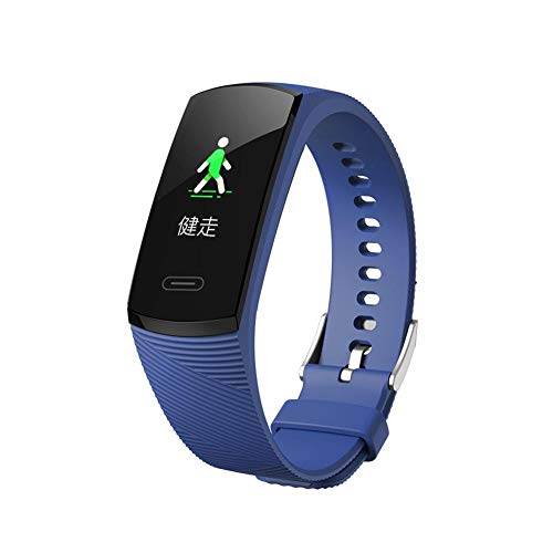 Smartwatch Fitness Armband 3D Applikation dunkel-blau für FitBit Charge 2