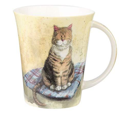 Alex Clark Taza con diseño de gatos