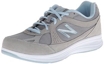 New Balance Women s 877 V1 Walking Shoe Silver 9.5 X-Wide