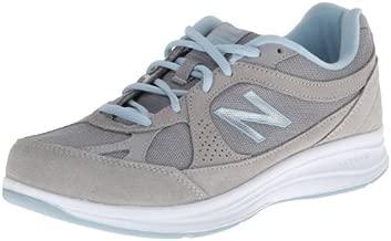 New Balance Women's 877 V1 Walking Shoe, Silver, 9
