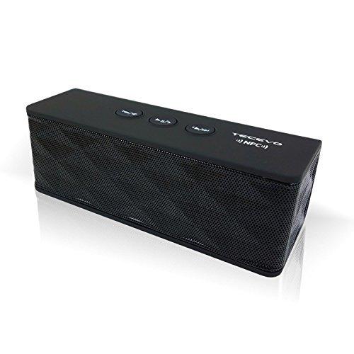 TECEVO T4 NFC Bluetooth Wireless Speaker e Microfono NFC Pairing 6W RMS Nero