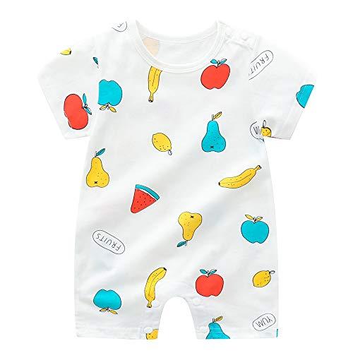 Pijama de bebé para niños y niñas, 100% algodón, linda excavadora, jirafa, pijama, pijama para niños y niñas, enterizo unisex para recién nacidos, 3 6, 9, 12 24 meses