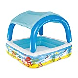 BESTWAY Canopy Play Pool, Planschbecken 147x147x122 cm