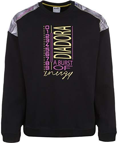 Diadora Sweatshirt Crew Bella VITA Sweater Black