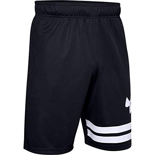 [アンダーアーマー] ショーツ UAベースライン 10インチ コート ショーツ(バスケットボール/MEN) メンズ 1351285 Black/White/White XL