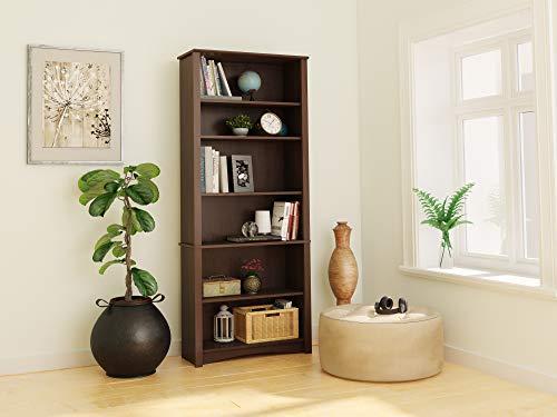 PREPAC Espresso 6-shelf Bookcase