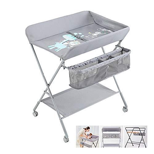 Changing Table Bath, Folding Diaper Station Portable Nursery baby's te verschonen dressing tactiele tafel 3 bestanden Omhoog en omlaag