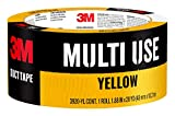 Scotch Painter's Tape 3920-YL 3M Multi Use Colored Duct Tape, 20 Yards, Yellow