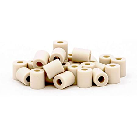 Chill French | Perles céramique EM® - Filtre anti calcaire 100% Naturel & Réutilisable | Billes d'argile Micro-organismes en tubes pour filtration eau du robinet, carafe, bouilloire (30 perles EM®)