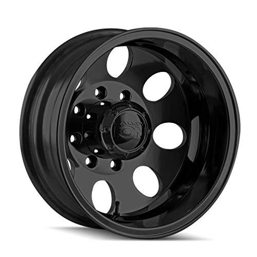 Ion Alloy Style 167 Matte Black Wheel 17' x 6.5' 8/165.1-142 130.18 (Qty 1)