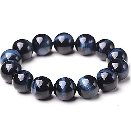 Fivesix 1PC con Cuentas Pulseras de Piedra Natural 8mm Joyas de Piedra Roca de la Lava Pulsera Azul del Tigre Pulsera del Ojo de Boho para Hombres y Mujeres, Las Necesidades diarias