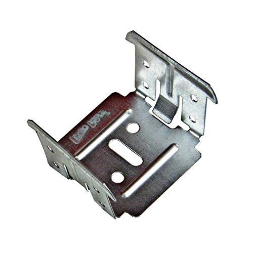 100 Stück Kreuzverbinder 0,8 mm für Deckenprofile CD 60/27 Profil Trockenbau Q1