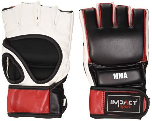 Effecten Sport IB 026 SXL BL/RE/WH MMA handschoenen – unisex volwassenen, zwart/rood/wit