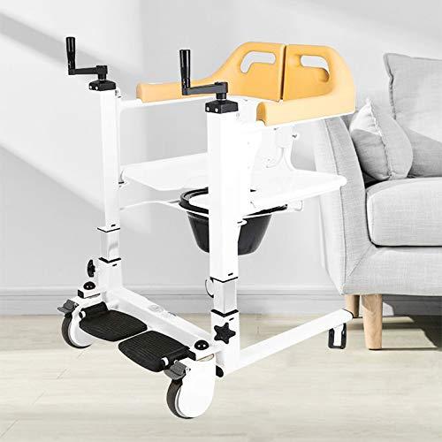 Enwebalay Kletteraufzug Multifunktion, Treppe Rollstuhl Einfaches öFfnen und SchließEn, 180 ° Leichtes öFfnen Und SchließEn Rollstuhl Treppenlift, Belastbarkei120 Kg