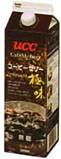 UCC 業務用 極味 クラッシュドコーヒーゼリー 無糖 GT1000ml