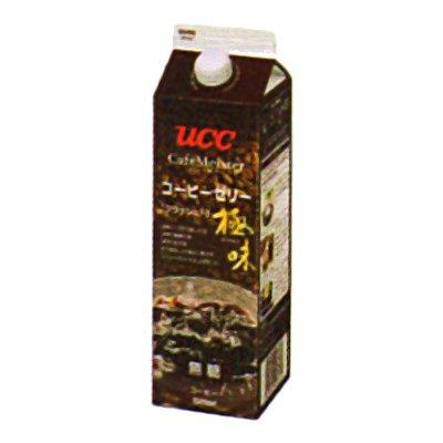 UCC 業務用 極味 クラッシュドコーヒーゼリー 無糖 GT1000ml×12個