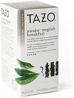 Tazo Awake Black Tea, 24-Count Tea Bags (Pack of 6)