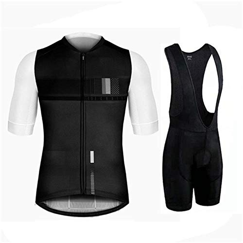 NHGFP QPM Triathlon Pro fietsshirt fietsbroek set Bike Uniform pak Fietskleding MTB Bike Kleding (kleur: Fietspak 2, Maat : XXL)