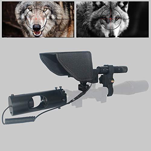 KAR Nachtsicht-im Freienjagd OpticsTactical digitalen Infrarot-Fernglas mit IR-und LCD-Anzeige für Zielfernrohr