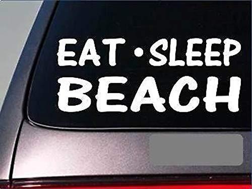 Eet Sleep Beach Sticker *G791* 8