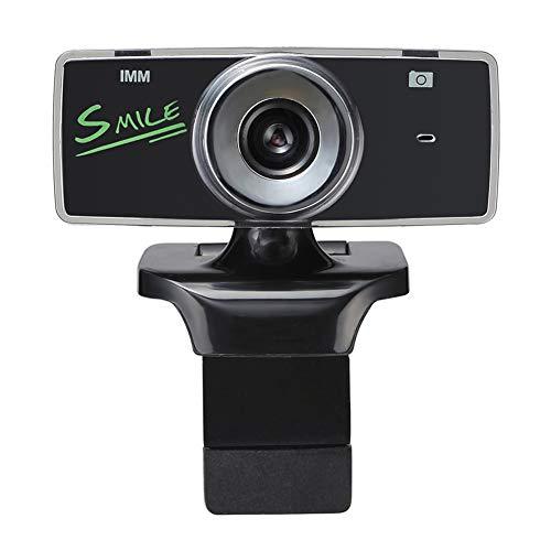 Fintass HD Webcam met Microfoon USB Draagbaar voor PC Laptop Desktop Computer Thuis Leren Live Streaming Webcam