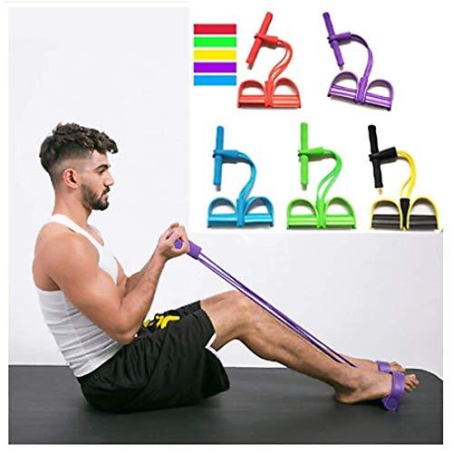 Dragon Honor Fitnessbänder, Resistance Band, Widerstandsbänder für Krafttraining, Physiotherapie, Fitness, Pilates(Zufällige Farben)