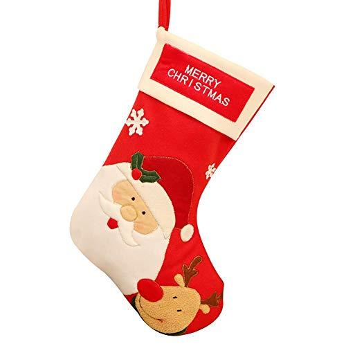 Cosmos Große Weihnachtsmann Weihnachtsszene Anordnung Socken Persönlichkeit Kreative Anhänger Süßigkeiten Lagerung Socken Weihnachtsbaum Kamin Anhänger