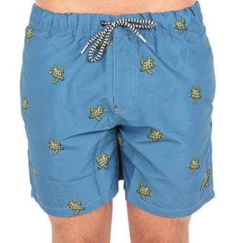 Shiwi Herren Badehose Turtle blau XL