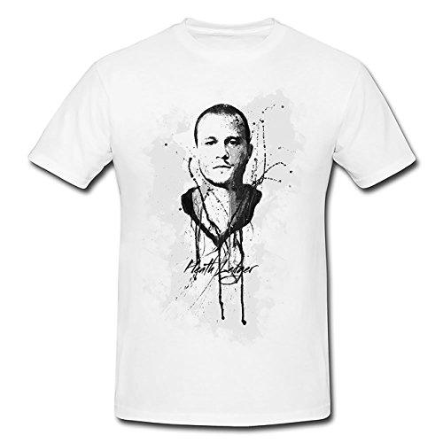 Heath-Ledger T-Shirt Herren, Men mit stylischen Motiv von Paul Sinus