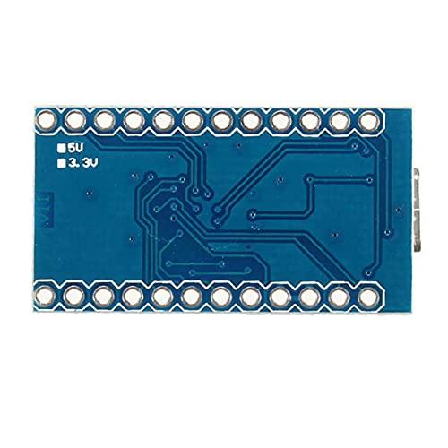 DealMux 3 uds Pro Micro 5V 16M Mini placa de desarrollo de microcontrolador Leonardo para un módulo de relé rduino