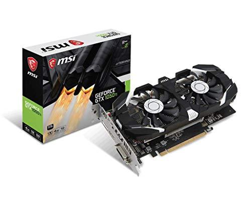 MSI GeForce GTX 1050 Ti 4GT OCV1 4GB Graphics Card