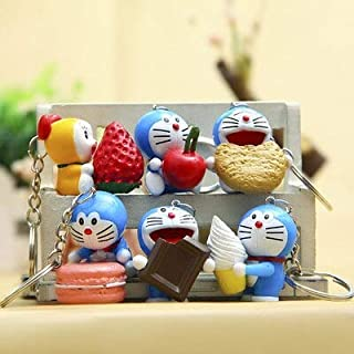 Cloth World Model 6Pcs Cute Mini Action Figure Toys Full Set Collectible Figurine Keychain Figure New Must Haves Friendship Gifts The Favourite Comic Superhero Dream LOL UNbox