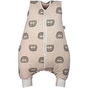 Hosenmax – Saco de dormir para bebé con patas – Algodón orgánico – Cumple con TOG 2,5 – Saco de dormir para bebé para…