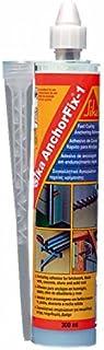 Sika AnchorFix - 1, Resina de poliester para anclajes, 300 cm3, Gris claro