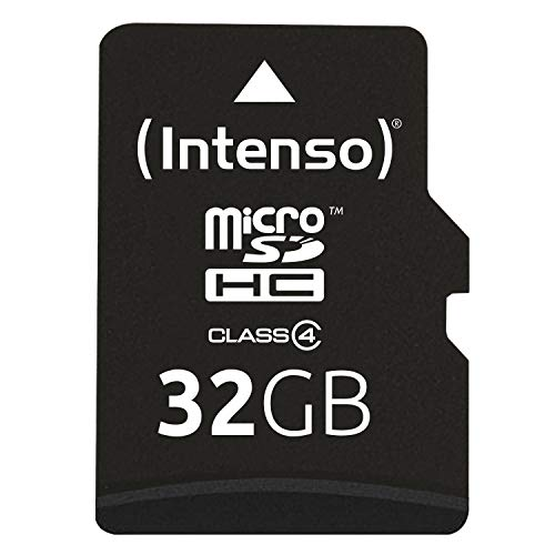 Intenso Micro SDHC 32GB Class 4 Speicherkarte inkl. SD-Adapter