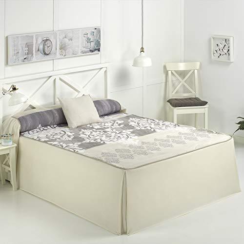 Camatex - Alma Bed 135 Tagesdecke - Beige Farbe
