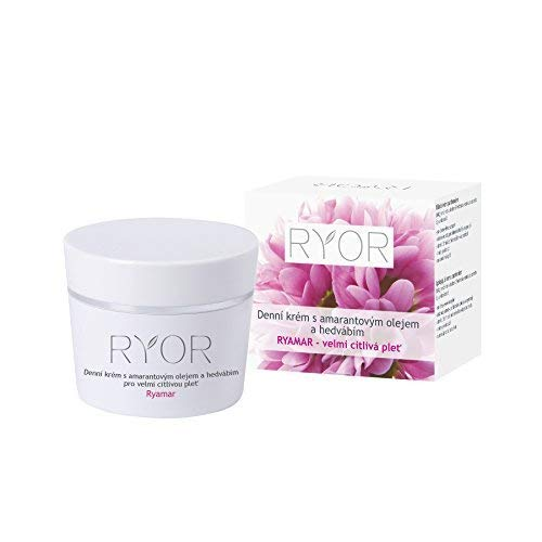 Day Cream with Amaranth Oil and Silk for Very Sensitive Skin/Crema de...