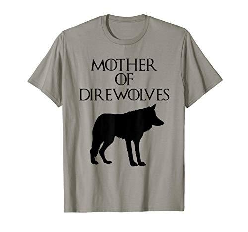 Funny & Unique Magic Direwolf Lettering Art T-Shirt S500212