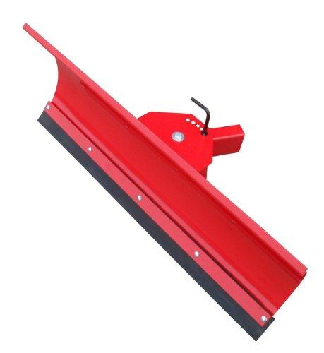 Universal Schneeschild / Hochwertig rot pulverbeschichtet / Breite: 125 cm - Höhe 40cm / Für...