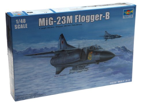 Trumpeter 02853 modelbouwset Russian MiG-23M Flogger-B