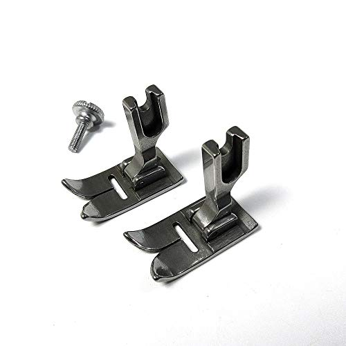 2 prensatelas de 12 mm para Singer 20U Zig ZAG #541566