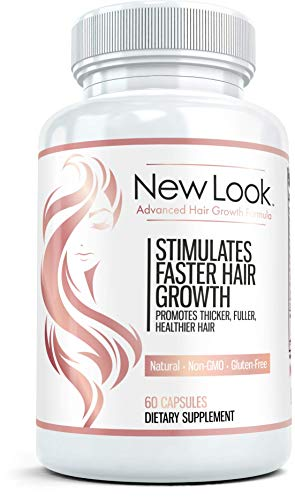 NEW LOOK Clinical Strength Hair Supplement - 60 Capsules
