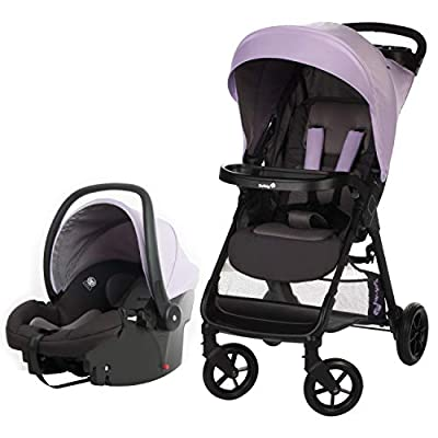 Safety 1st Smooth Ride Travel System Stroller with OnBoard 35 LT Infant Car Seat (Monument 2)