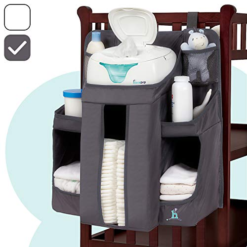 Playard /& Wall Diaper Stacker for Changing Table Crib Magicfly Hanging Diaper Caddy Organizer Large Capacity Nursery Organization Perfect Baby Shower Gift for Boys /& Girls